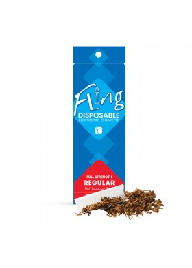 Regular Flavor Tobacco Disposable E-Cigarettes