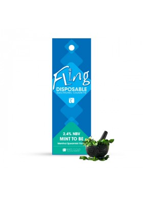 Mint To Be Flavor Disposable E-Cig
